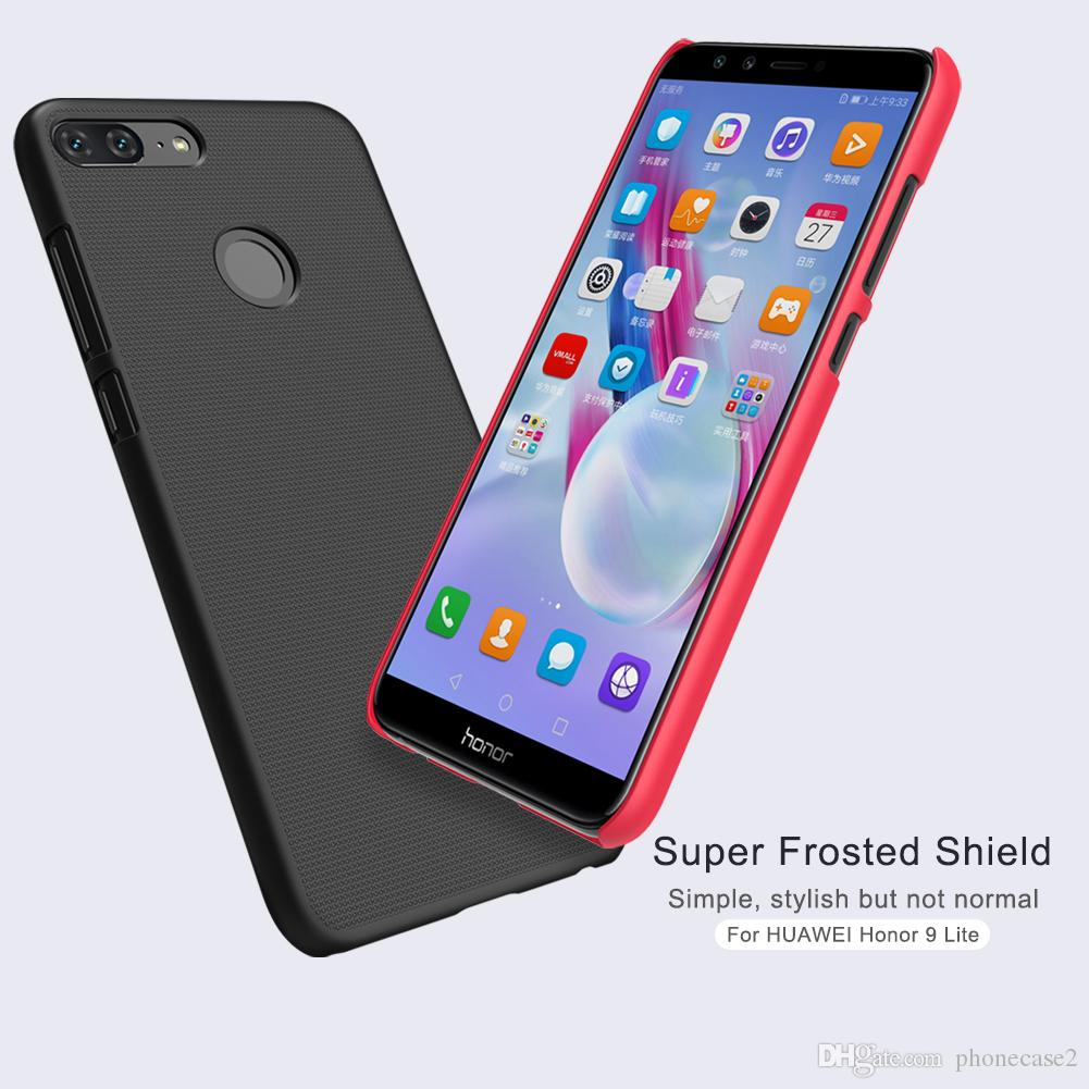 For Huawei Honor 9 Lite Case NILLKIN Super Frosted Shield For Huawei Honor 9 Lite PC Plastic Back Cover With Gift Screen Protector