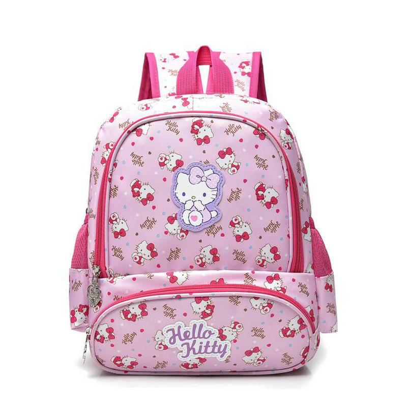 087f2892bee2 New Fashion Girls School Bag Cartoon Children Backpack School Bag Hello  Kitty BackpacSchoolbag Bags Lovely Children Backpack Bum Bags Hype Backpack  From ...