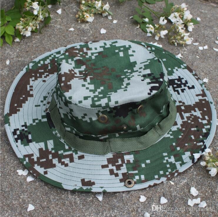 Tactical Bucket Beanie Hats Airsoft Sniper Camouflage Nepalese Cap Military Army American Military Accessories Hiking Hats