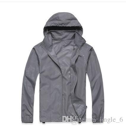 66e537fdea3 Men S Spring Autumn Thin Jacket Coat Outdoor Waterproof Quick Dry Camping Jackets  Women Windproof UV Protection Outdoor Sport Skin Jacket Blue Jacket Hockey  ...