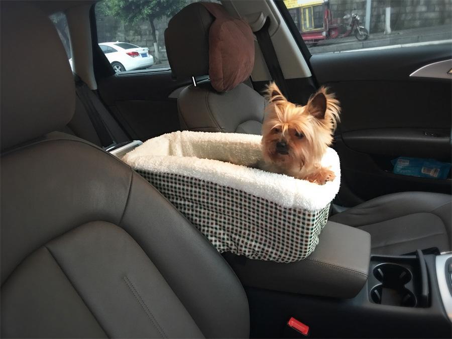عالمي سيارة غطاء مقعد الحيوانات الأليفة نونسليب مبطن الأرجوحة الناقل سيارة تحمل الكلب أكياس للكلاب الصغيرة في سلامة السيارة لوازم