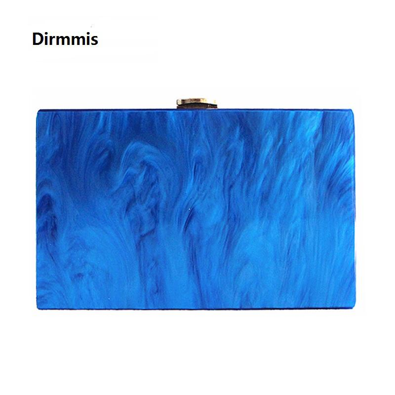 New Wallet 2018 Women Messenger Bag Fashion Party Handbag Marble Pearl Luxury Acrylic Evening bag Lady Street Solid Prom Clutch