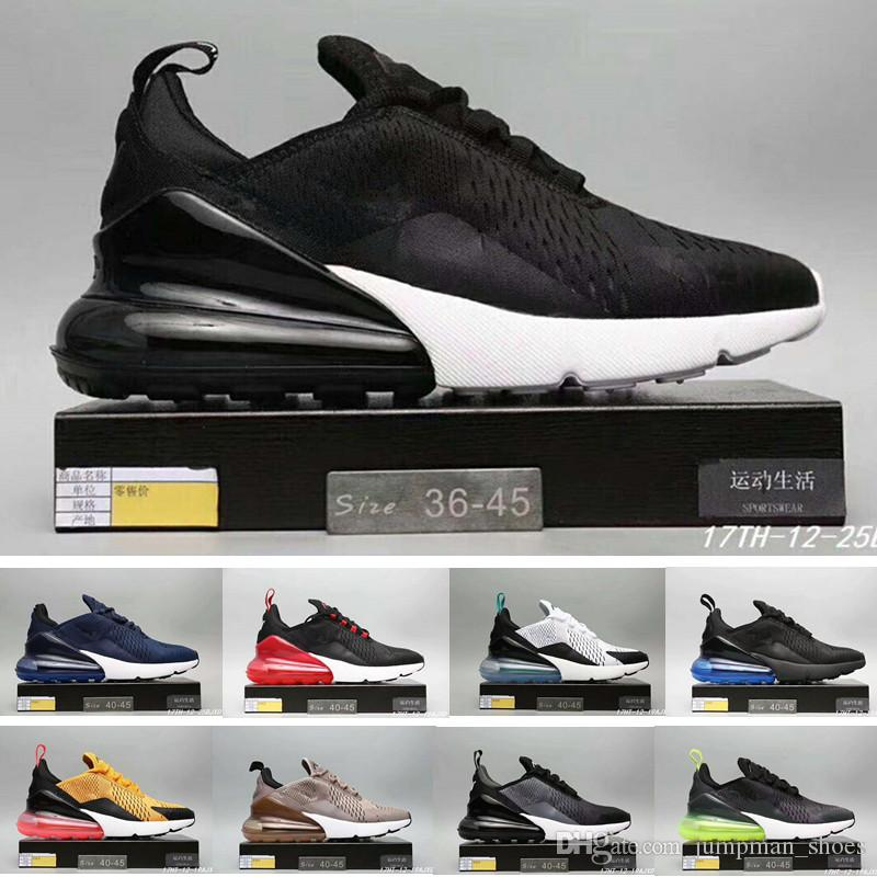 High quality 2018 Casual Shoes 270 C Black White Red Yellow Green 270 Cushion Men Women Sports Running Sneakers Eur 36-45 Free shipping outlet sast 9zntIW