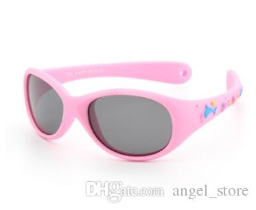 169aa503c6a 851 Flexible TR90 Little Baby Sunglasses Boys 1 2 3 Years Small Size Polarized  Lenses Mirror Children Sunglasses Child Prescription Sunglasses Online  Black ...