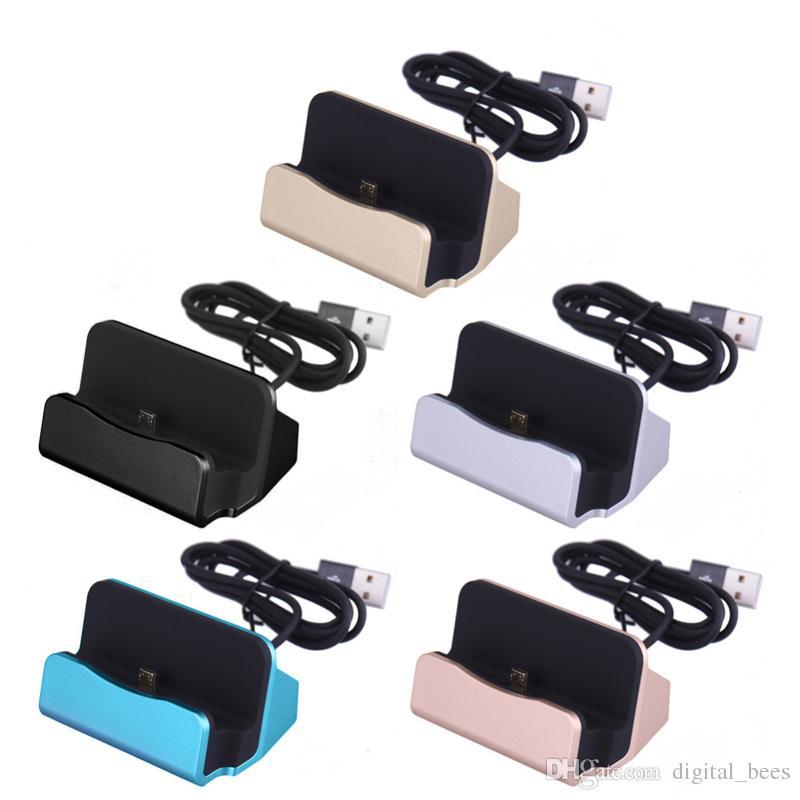 Универсальный 2 в 1 данных Android мобильный телефон док зарядное устройство Micro USB Тип C док-станция подставка для зарядки док-станция синхронизации