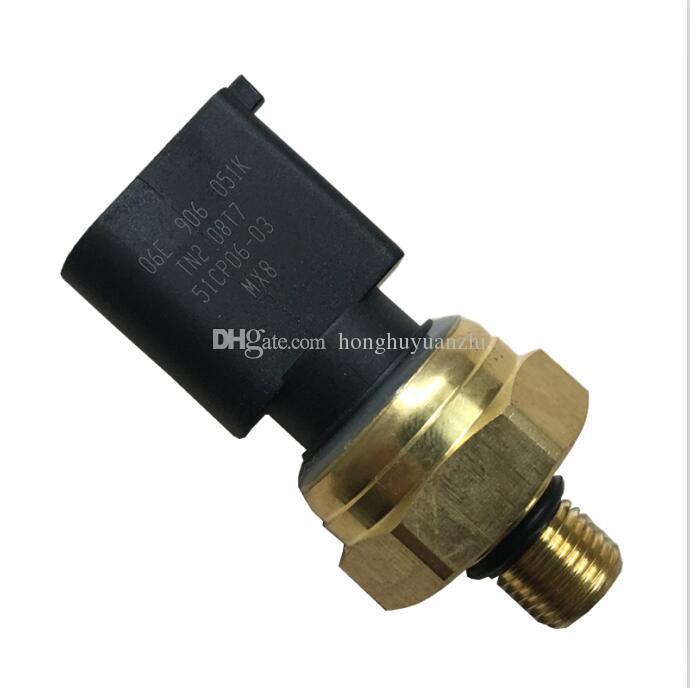Fuel Pressure Sensor Fit For VW Audi Low Pressure Sensor 06E906051K  06E906051E 06E906051J
