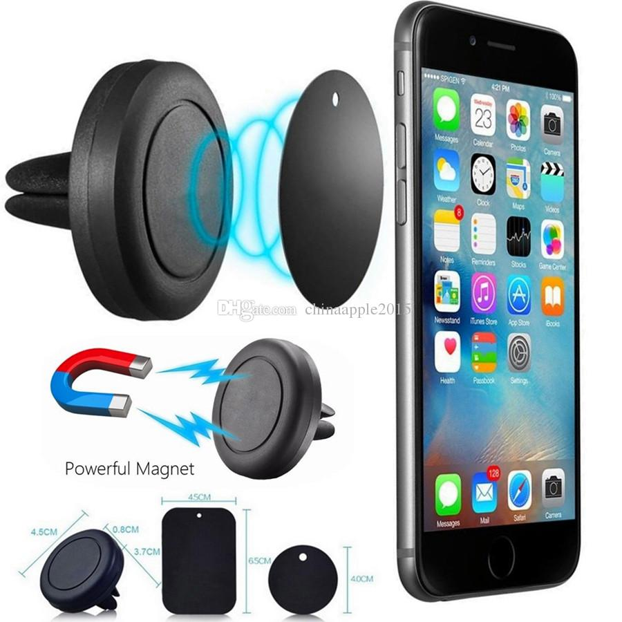 6f4d125e8b2d1d 2019 Car Mount Phone Holder Air Vent Magnetic Universal Car Mount Cell  Phone Holder One Step Mounting ,Reinforced Magnet Easier Safer Driving From  ...