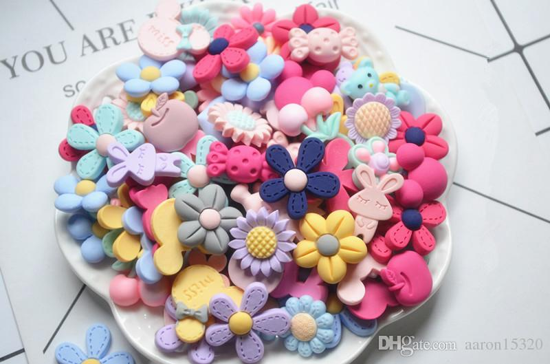 Mix Resin Flatback Button Flower Bow Art Album Flatback Scrapbooking Embellishments Diy Scrapbooking Craft Accessory