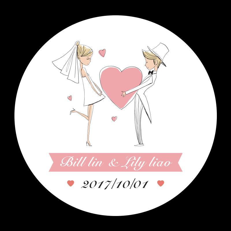 Party Favors Etiketten Personalisierte Hochzeit Aufkleber Benutzerdefinierte Candy Aufkleber Hochzeit Engagement Jahrestag Liefert Boda