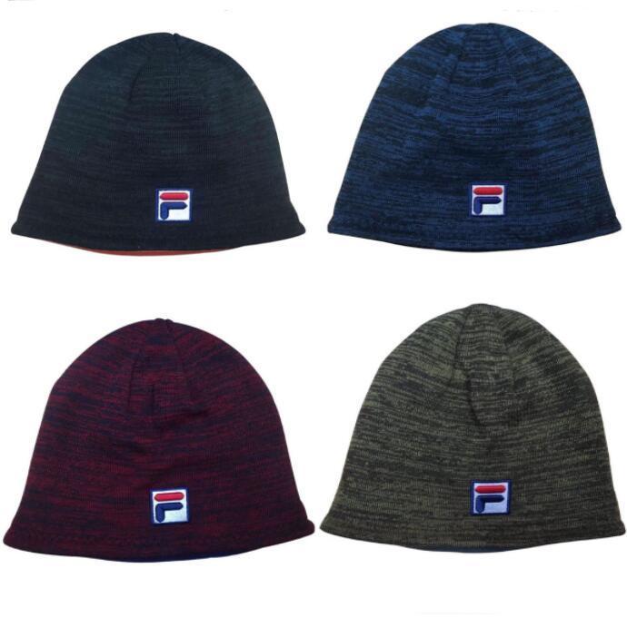 Compre FL Unisex Sombreros De Punto De Invierno Beanie Skull Caps ...