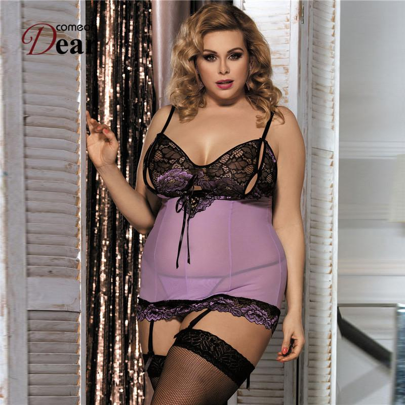 204b76f5f Comeondear Erotic Lingerie Clothes Sexy Lingerie RK80298 Women Hot Erotic  Lingerie Negligee Costumes Intimates Sex Products Y18102206 Wedding Night  Lingerie ...