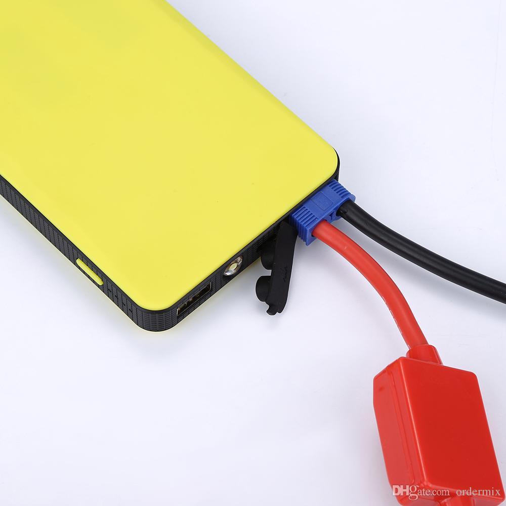 Arranque externo de arranque de auto de alta calidad 8000mAh Salto Auto Coche Banco de energía Cargador de batería Vehículo Comienzo externo