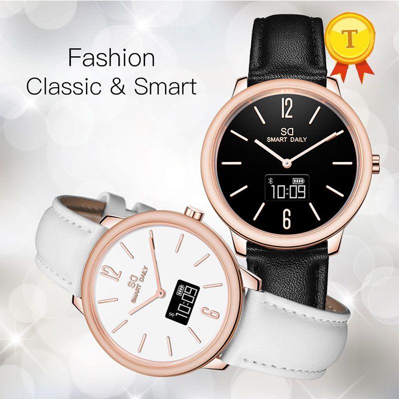 Relojes Precios Moda A Prueba De Agua De Las Mujeres De Lujo Reloj  Inteligente Reloj De Pulsera Dama Inteligente Teléfono Pulsera Reloj Reloj  Para Ios ... 1b1087aecbda