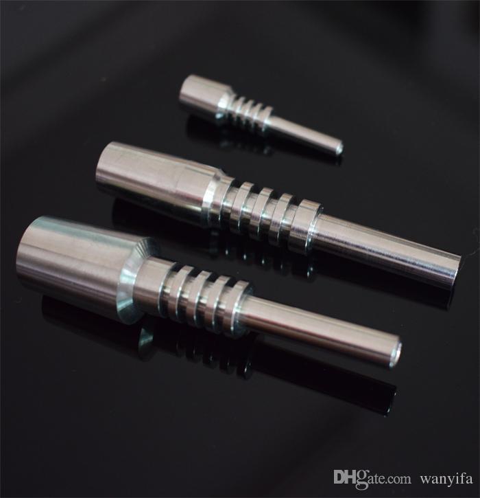 Punta de titanio Clavo de titanio 10 mm 14 mm 18 mm Clavo invertido Grado 2 Ti Clavo para vidrio bong Vidrio