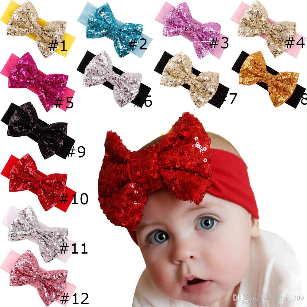 Props Girls Hair Accessories Headwrap Lace Bow Knot Hair Band Baby Headband