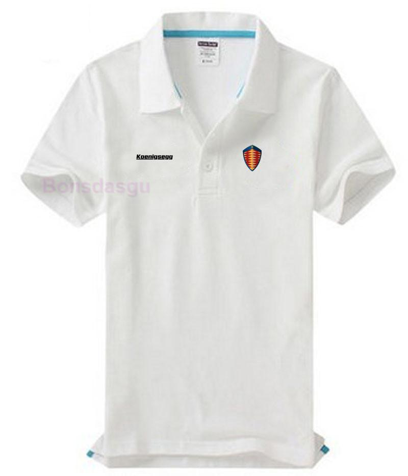 3827e2103 2019 Men Shirt Brand Solid Color Shirts Koenigsegg Logo Women's Casual  Cotton Short Sleeve S Shirt From Xiamen2013, $25.78 | DHgate.Com