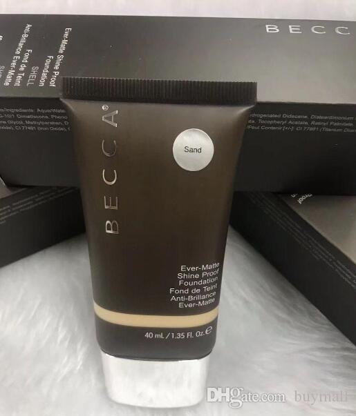 Professioal BECCA Ever-Matte Shine Proof Foundation Makeup Shell / Sand Brand New in box DHL Free