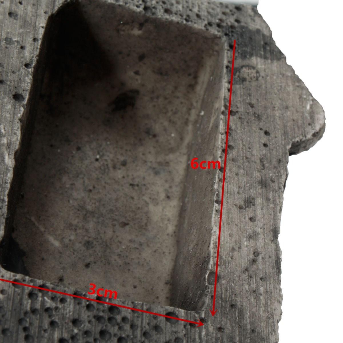 Key Box Rock Hide In Stone Cassaforte di sicurezza dell'organizzatore di immagazzinaggio Caso di portello di portello che nasconde l'ornamento esterno del giardino Supporto falso di roccia