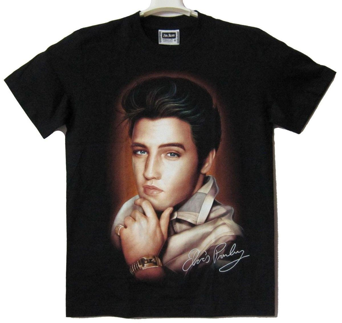 a1f4d77284a ELVIS PRESLEY The King T Shirt 100% Cotton New Size S Trump Sweat Sporter T  Shirt Fan T Shirt T Sh Fashion Shirt From Qz1685640834