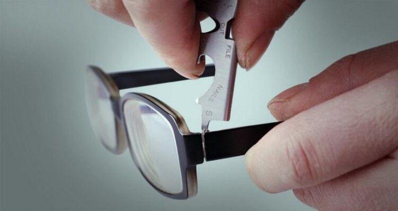 Edelstahl Hängende Schlüsselschnalle Praktische 8 In 1 Tasche EDC Werkzeuge Universal Multi Funktion Schraubendreher Flaschenöffner 3 2dt B