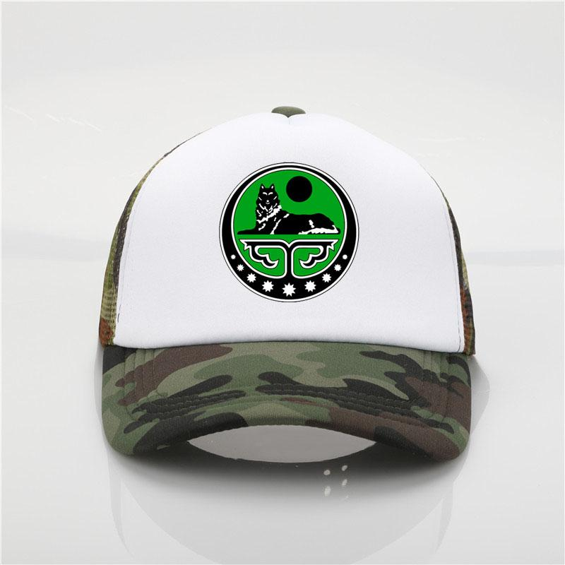 ae1467b88972 The Latest Fashion Hat Chechen Republic Of Ichkeria Print Baseball Caps  Chechen Wolf Second Ch Summer Men Women Mesh Cap Basecaps Hats For Sale  From ...