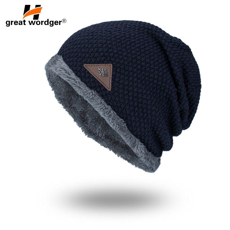 d02e972330c Outdoor Thermal Skiing Hats Winter Windproof Men Women Hiking ...