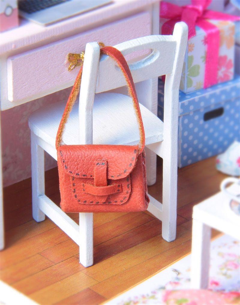 Cute Room Diy Manual Originality Villa Handicraft Dollhouse Miniature Boxes Theatre With 3 Mini Led Lamp New Style 26hb Z