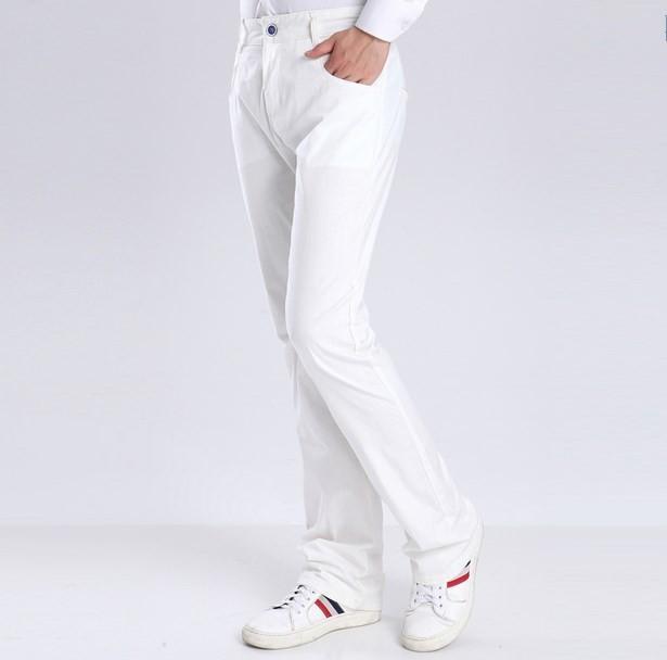 Gelb Sommer Hosen Schwarz Baumwolle Flare Ausgestellte 38 Herren Pants Flachs Größe Casual Plus Khaki Männer Fashion Leinen Weiß Yfby76g