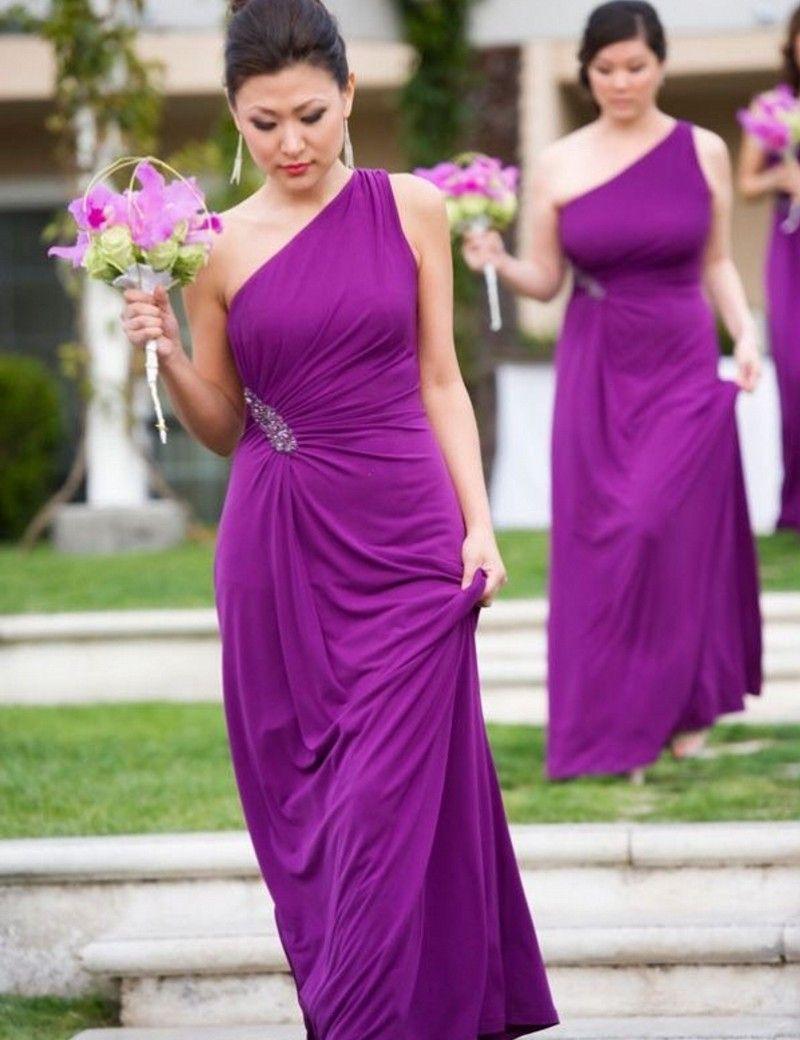Compre Vestido Madrinha Vestido De Dama De Honor Largo Vestido De ...