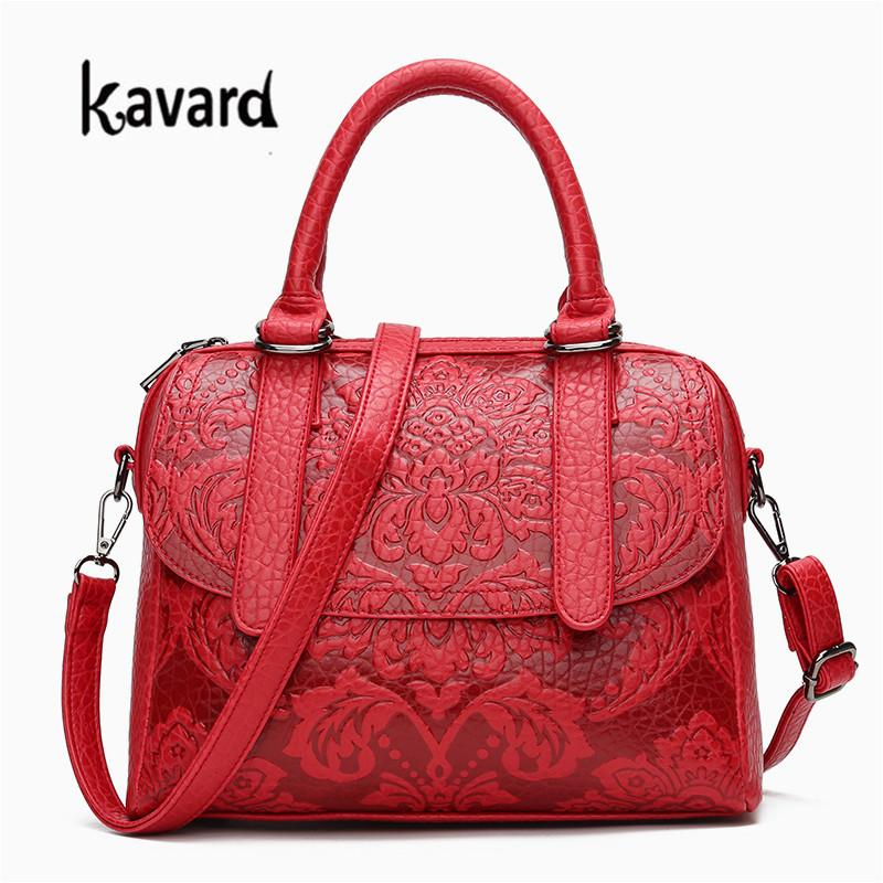 f38354c858 Designer High Quality Handbag Pu Bags Handbags Women Famous Brands Chinese  Style Shoulder Bag With Flower Small Tote For Girl Leather Backpack Purse  ...