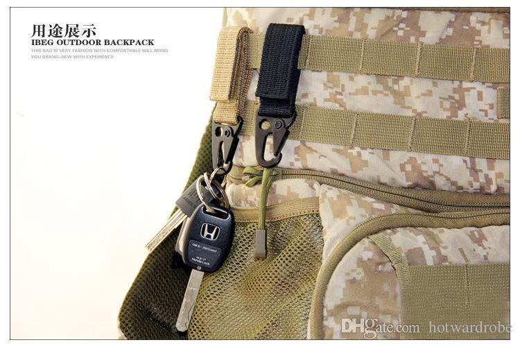 Outdoor Tactical Equipment Nylon Gurtband SchlüsselanhängerHang Buckle Oleo Haken Gürtel Karabinerhaken Rucksack