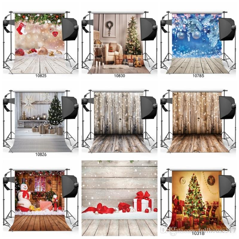 christmas tree vinyl wood floor photography backdrop studio photo props background home decor wallpapers for new year best high definition wallpapers best