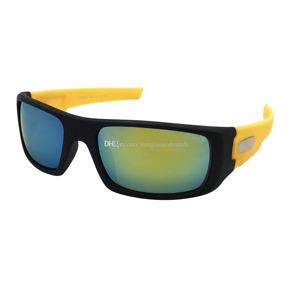d1d8efa8cf Luxury Design Sunglasses Ocrankshaft Fashion Sports Brand Eyewear Black   Yellow  Gold Mercury IRIDIUM Mirror Lens LEN1101 OK90 Sunglass Cheap  Sunglasses ...