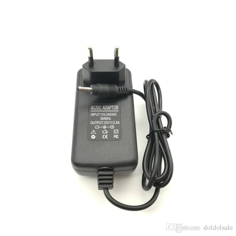 50 stücke 12 V 2.5A 30 Watt Tablet Ladegerät AC Adapter für Cube i7 Cube i9 tablet pc Netzteil 3,5x1,35mm / 3,5 * 1,35mm