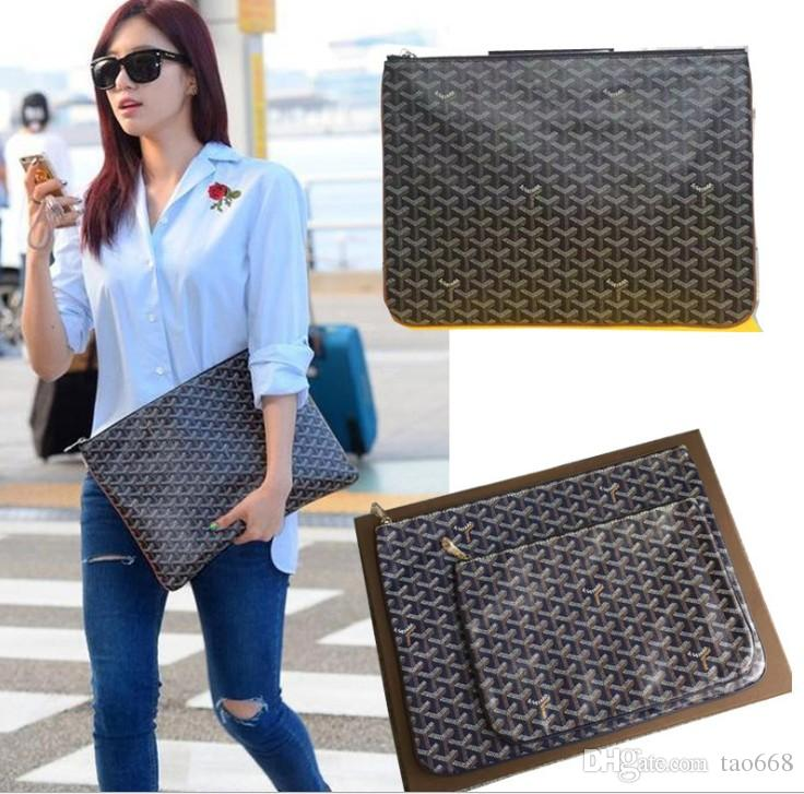 PU leather women clutch bags french shopping bag Top quality Soft canvas Fashon bags