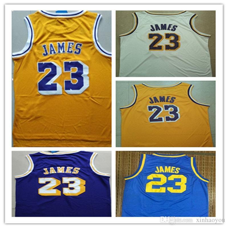 c26112d4865 High Quality Men's Fans Jersey James Jersey New City Jerseys 23 ...