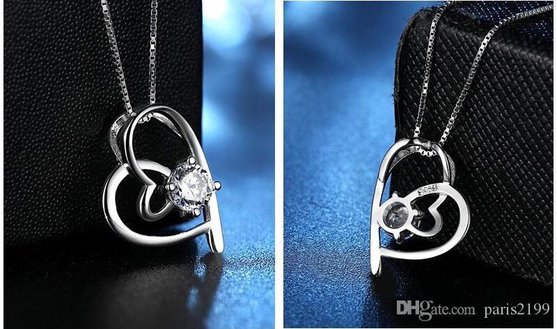 Donna di vendita calda moda Cuore andare mano nella collana collana versione coreana del popolare gioielleria di moda coreana