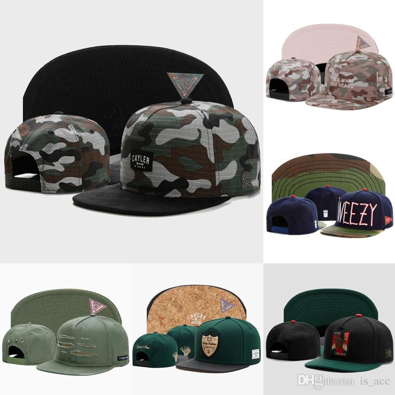 1202f7b6d2a Arrival Baseball Caps Adjustable Camo Letter C Snapback Hats Sports ...