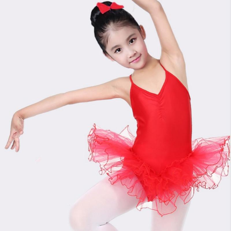 05cb373fb423 2019 Ballet Dress For Children Girl Dance Clothing Kids Costumes ...