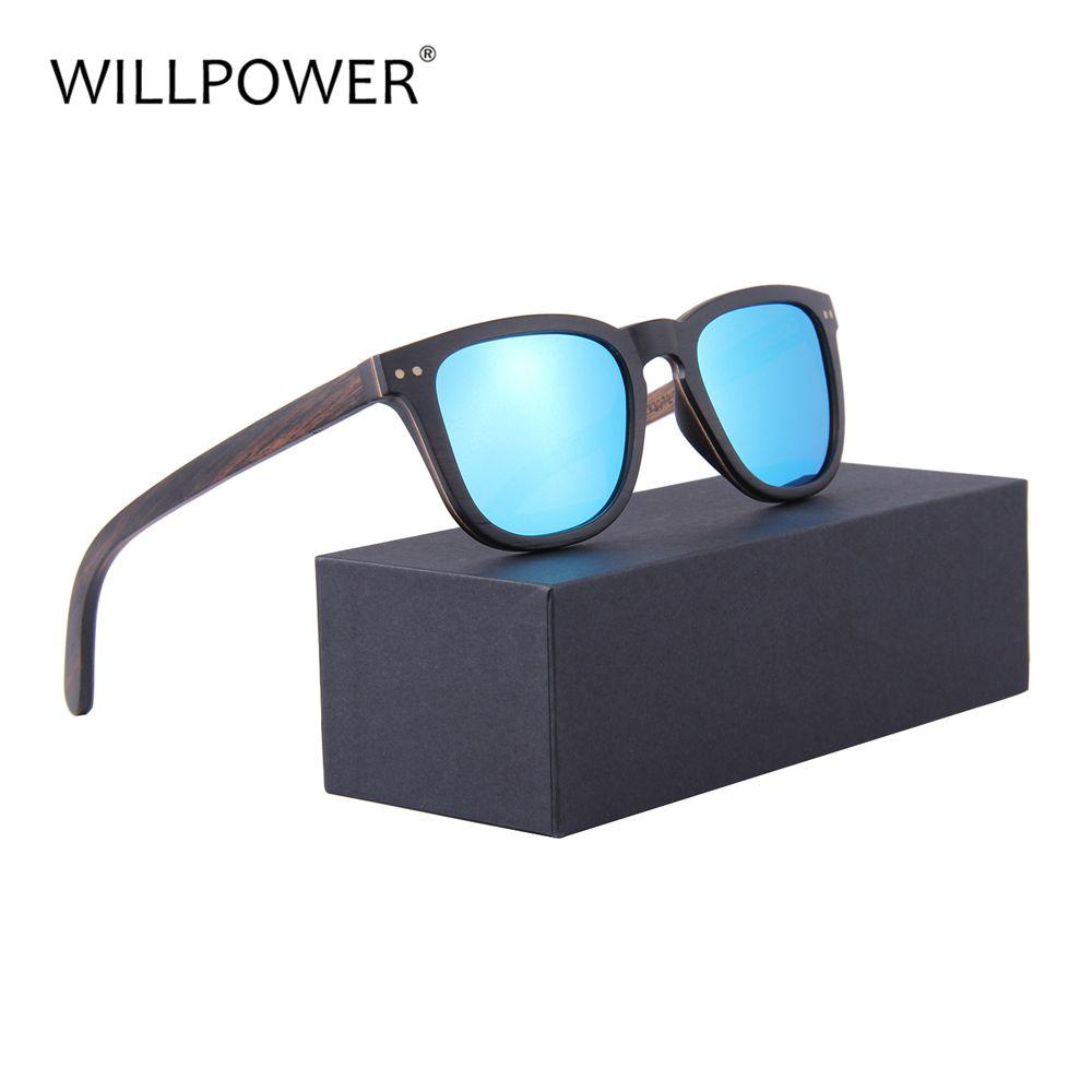 8d4657e045 Wholesale Sunglasses Women 2018 Handmade Wooden   Bamboo Frame TAC ...