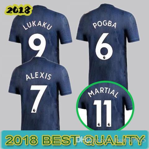 Online Cheap 2018 2019 Man Alexis 7 Lukaku 9 Soccer Jerseys 18 19 Lingard  14 Pogba 6 Rashford Utd Football Shirt Blue Maillot De Foot By Fsa630965 |  Dhgate.