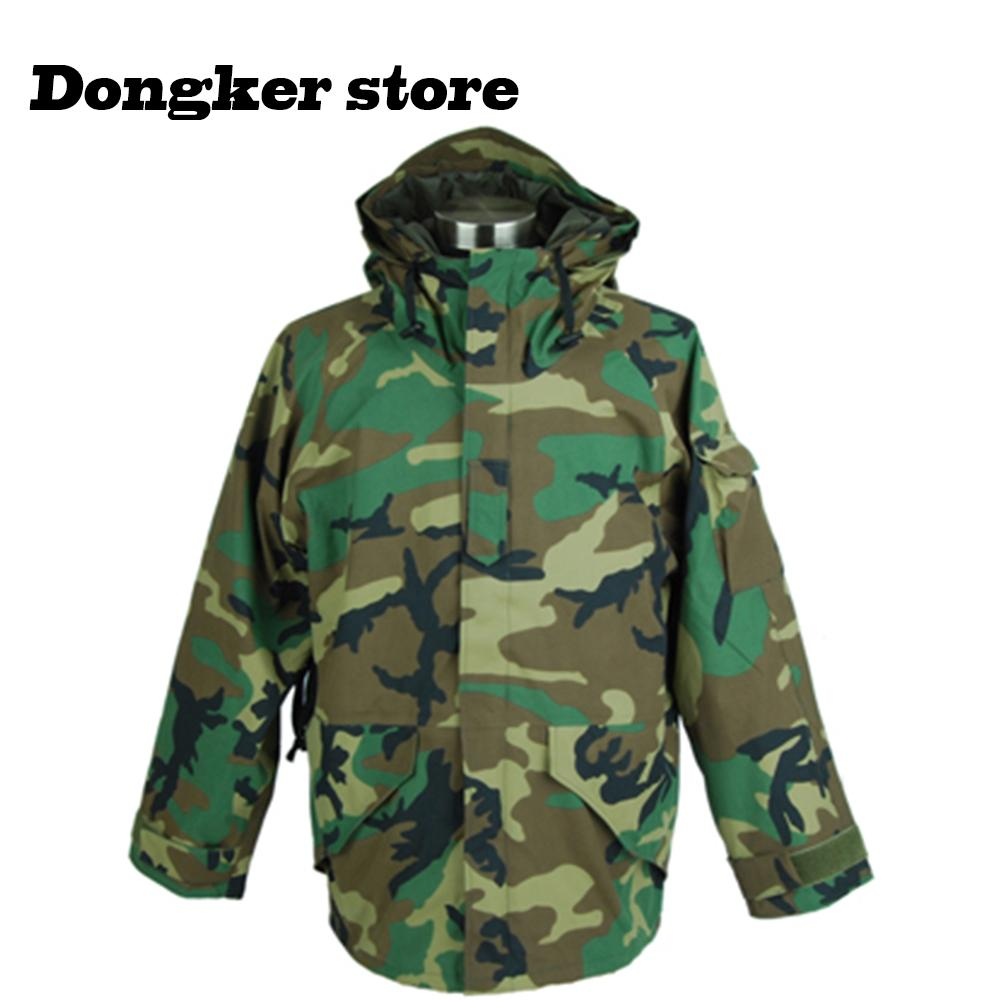 367674a254cb0 2019 Outdoor Camouflage Jackets Men Hooded Waterproof Windbreaker Cloth  Tactical Jacket Warm Army Outerwear Coat From Hineinei, $50.09 | DHgate.Com
