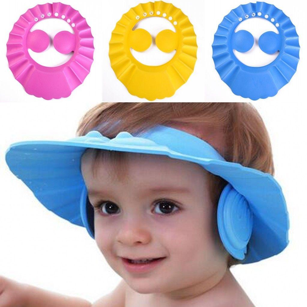 Cheap Price 1pc Children Baby Bath Shower Head Protect Shampoo Shower Water Resist Adjustable Cap For Washing Bath Beauty & Health