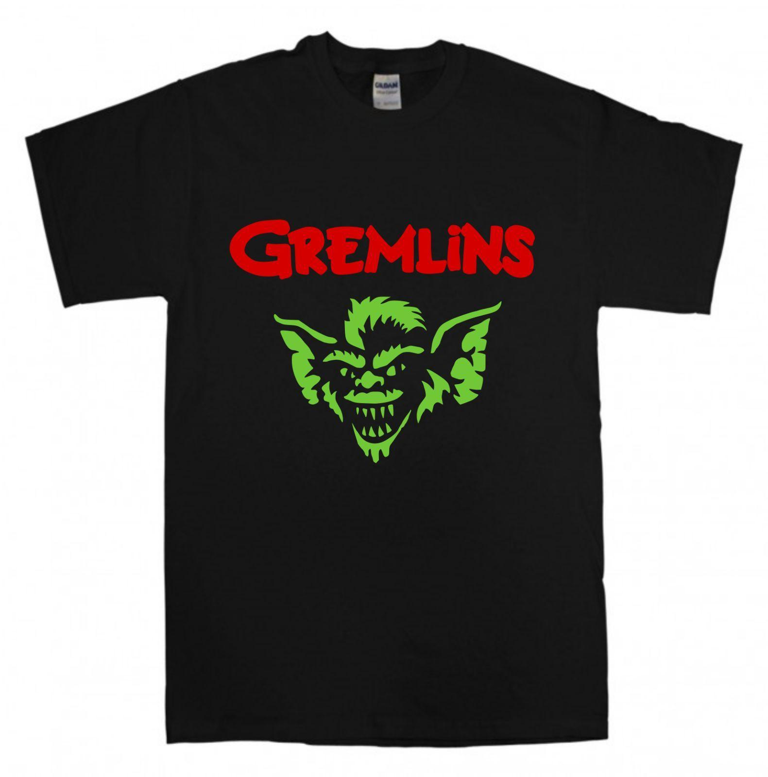 1a7818b7424 GREMLINS New Black T-shirt S-XXL Retro Vintage Cristmas Movie Gift Gizmo  Moqwai Trump Sweat Sporter T-shirt Online with  19.15 Piece on  Qz1409088365 s Store ...
