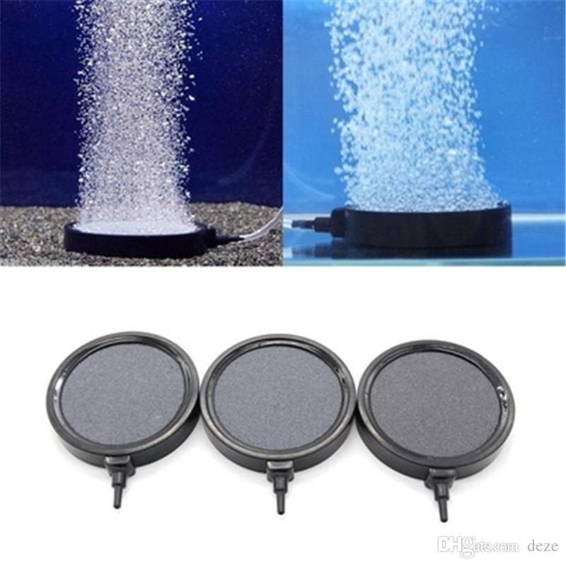 Vários Diâmetro Aquário Bolha de Ar Pedra Disco Tanque De Peixes de Oxigênio Bomba de Ar Aerador Hidropônico Oxigênio Bolhas de Pedras Acessórios