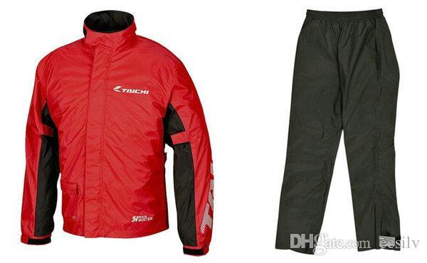 TAICHI RS-038 moto imperméable sports de plein air chevalier pantalon d'équitation et manteau quotidien pluie jour ride vêtements bon imperméable à l'eau effection imperméable