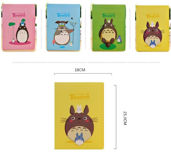 6pcs/lot B5 style cute cartoon Japan Cat Kraft paper notepad Diary Animal journal Kraft Notchool supply