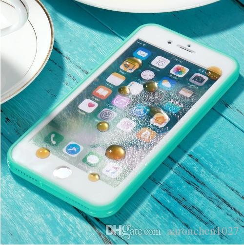 info for 529b3 44cb7 Ultra Thin iPhone X Waterproof Case for iPhone 6 6s Transparent Soft TPU  Diving Swimming Cases for iPhone 6 6s 7 8 Plus 5 5s se