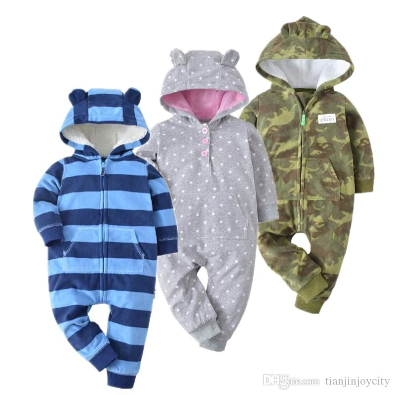 a094a0eab Baby Costume Cute Camo Baby Jumpsuit Coat for Boy Clothes