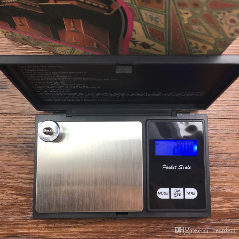 0.01g Accurata Bilancia Digitale LCD Alta Precisione Tasca Elettronica Ponderazione Gioielli Moneta Scala d'oro g / oz / gn / ct / dwt / ozt